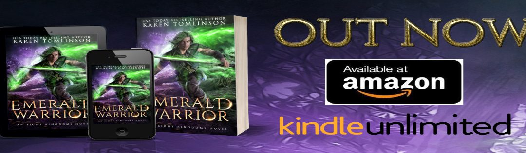 EMERALD WARRIOR RELEASE DAY!