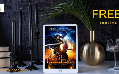 Get your Easter read! A Bond of Blood and Fire is FREE!