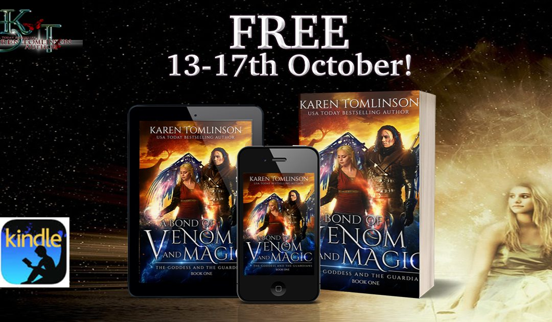 Free book! Last chance to grab A Bond of venom and magic for nothing!